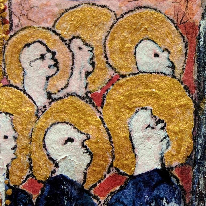 Adoring Saints Daniel Rushforth